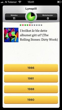 VG Musikk Quiz