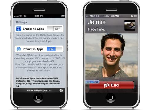 FaceTime 3G
