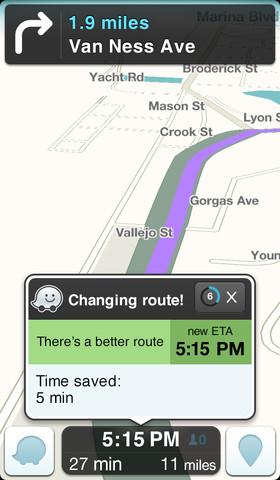 Vil Apple kjøpe Waze for å forbedre kart?