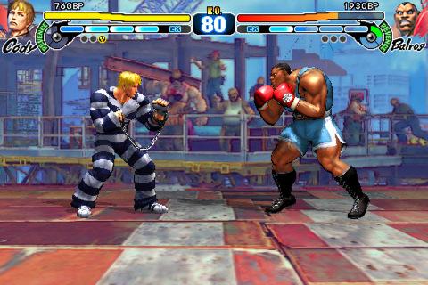 Street Fighter til iOS