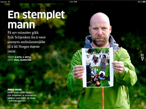 Aftenposten lanserer A-Magasinet på iPad