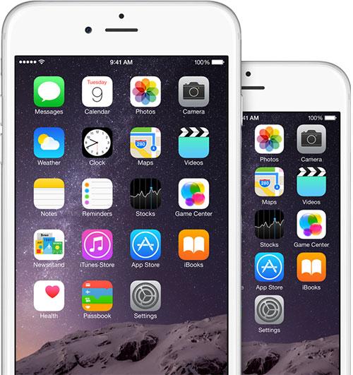 Norsk bakgrunnsbilde på ny iPhone