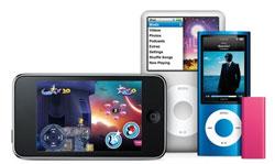 Apple oppdaterer iPod touch, shuffle og Classic