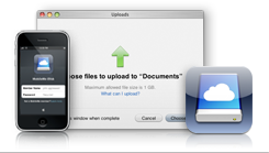 Apple iDisk for iPhone
