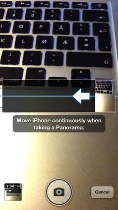 Skjult funksjon i iOS 6 Panorama