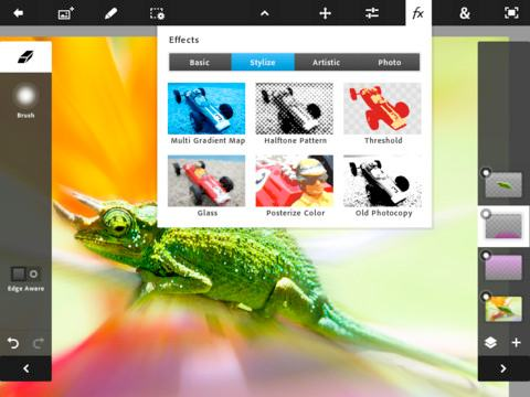Adobe lanserer Photoshop til iPad
