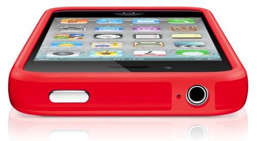Ny rød iPhone-bumper fra Apple