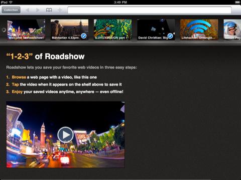Lagre nettvideoer på iPad til offline visning