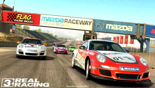 Real Racing 3 er annonsert