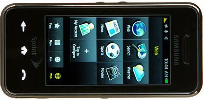 Samsung Instinct - en iPhone killer?