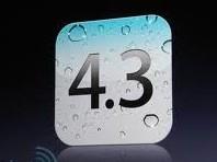 iOS 4.3 tilgjengelig for nedlastning