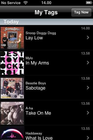 Shazam finner musikken på din iPhone