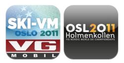 Ski VM på iPhone