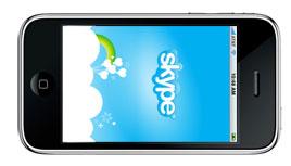 Skype på iPhone