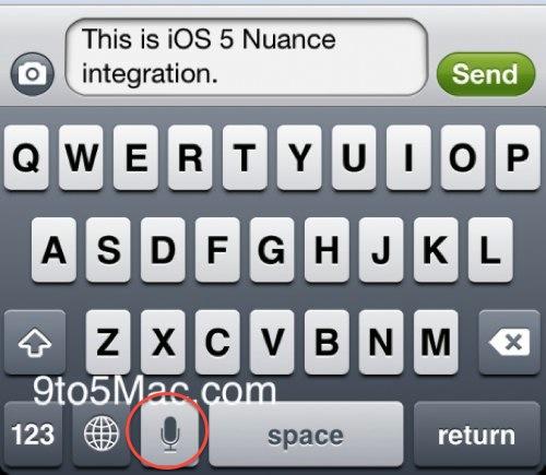 Apple skjuler tale-til-tekst funksjonalitet