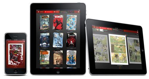 Tegneserier på iPad med Panelfly
