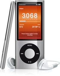 Pedometer på iPod nano