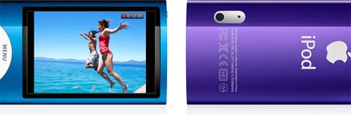 Videoopptak med nye iPod nano