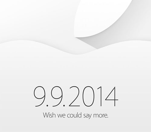 Apple inviterer til lansering 9. september
